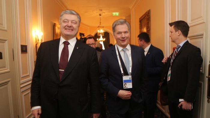 Toppmote om ukraina