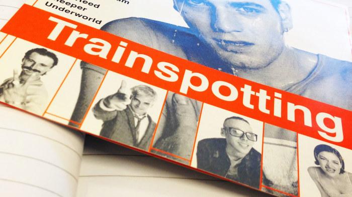 Sa skrev dn om forsta trainspotting filmen 1996