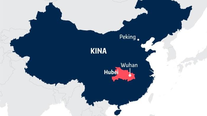Over 400 Doda Och 20 000 Infekterade Kina Medger For Forsta
