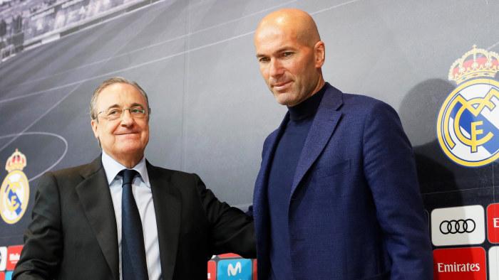 Men zidane kan spela i reals final