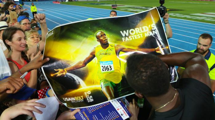Jamaicanska friidrottare far tavla