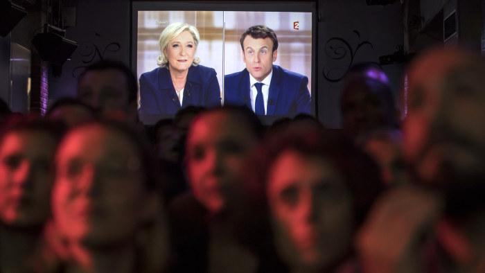 Valet i paris en duell mellan tva kvinnor