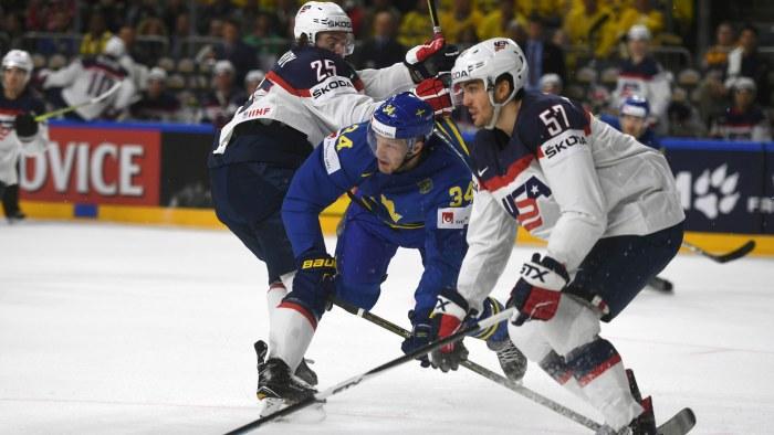 Myran gustavson slutar med ishockeyn igen