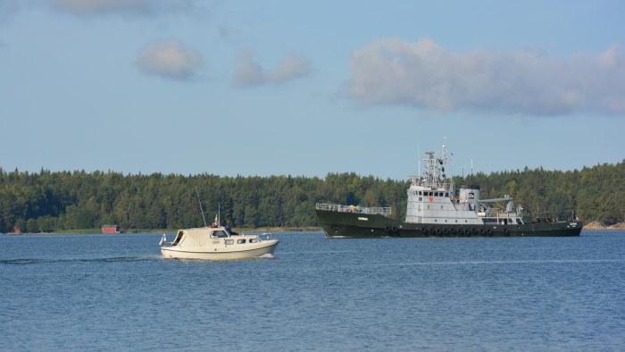 navigering på sjön förr