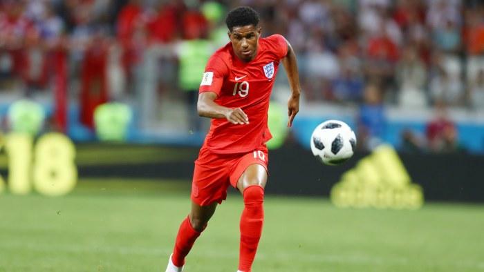 Marcus rashford fixade engelsk seger