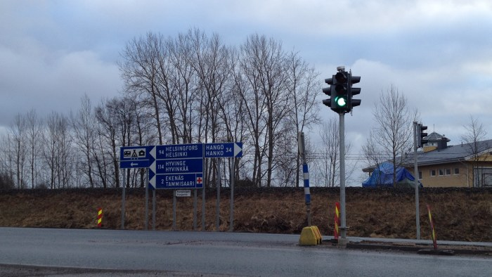 Tvist om trafikljus