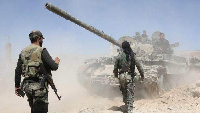 Dodstal stiger trots syriens loften