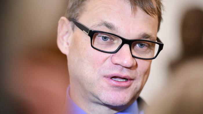 Finlands statsminister knivattackerad