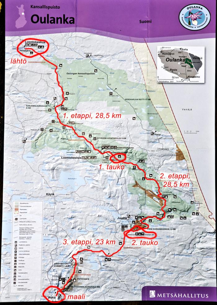 Nakokulma 80 Km 24 Tunnissa Ensimmainen Kolmannes