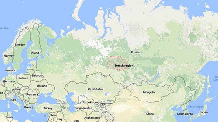 sibirien karta Mats vill med i