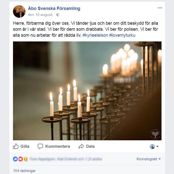 """""""Jag var ganska bitter på Facebook den kvällen"""" – så sörjer vi på sociala  medier  ba5f7591f2d0e"""