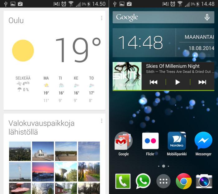 Koukku ohjelmisto Android
