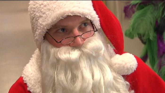 tecknad Santa kön suga min stora kuk gay