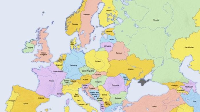 Karta Europa Tidszoner.Vad Ar Osteuropa Egentligen Och Varfor Vill Inte Finland Hora Dit