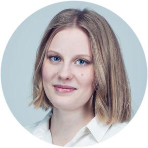 toimittaja Anniina Nirhamo