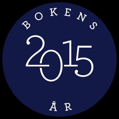 Bokens år 2015 logotyp