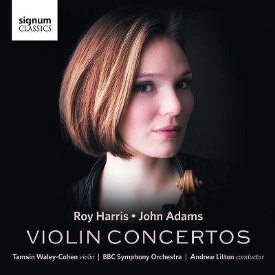 Roy Harris / John Adams / Violin Concertos