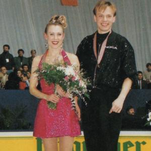 Susanna Rahkamo ja Petri Kokko jäätanssin EM-mestaruus 1995