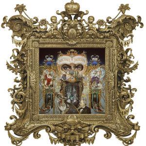 """The King of Pop"" - målning av Mark Ryden"
