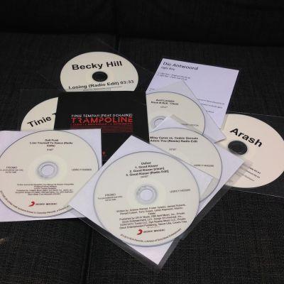 CD-singlar