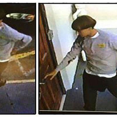 Mannen som misstänks ha skjutit ihjäl nio persoenr i en metodistkyrka i Charleston, South Carolina.