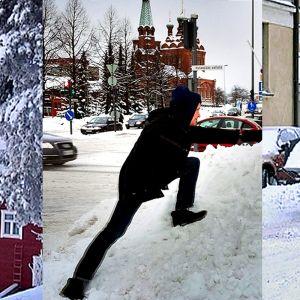 Lumikuvia Tampereen talvesta 2011