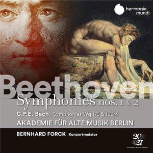 Beethoven & C.P.E. Bach / Akademie für Alte Musik Berlin