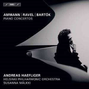 Ammann - Ravel - Bartok / Haefliger, HKO, Mälkki