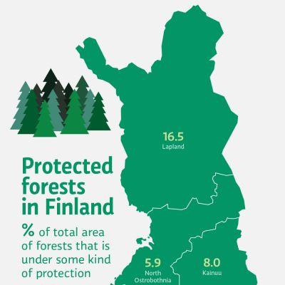 Graaffi suojelluista metsistä