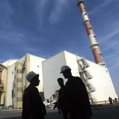 Kärnkraftverket i Bushehr byggdes med hjälp av Ryssland och stod klart 2010. Bilden tagen i oktober 2010.