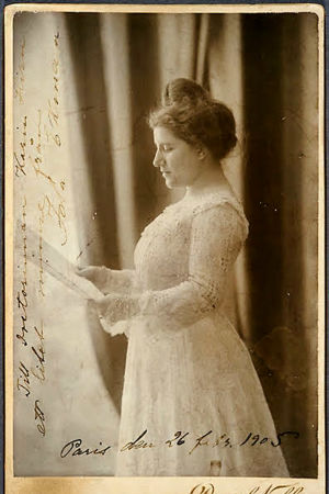 Sopraano Ida Ekman uransa huipulla.