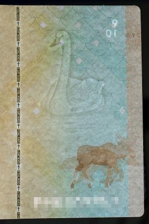 Vattenstämpel i pass