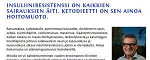 Antti Heikkilä hävdar att det finns en gemensam orsak och ett enkelt botemedel för en lång rad svåra sjukdomar, som cancer, diabetes och depression.