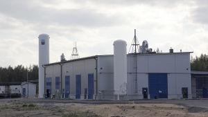 Woikoskis vätgasfabrik i Karleby