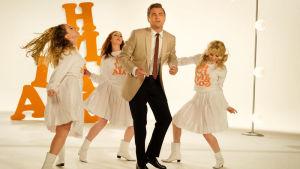 Leonardo DiCaprio dansar.