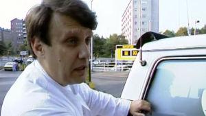 Bil på Henrik Perret