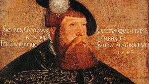 Gustav Vasa, målning av Jakob Binck (ca 1600)