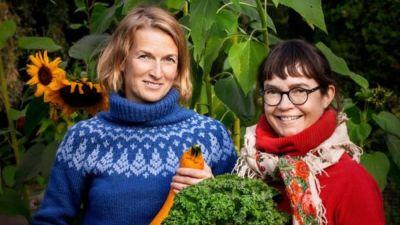 Lina Laurent och Maija Hurme.