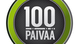 100 päivää logo
