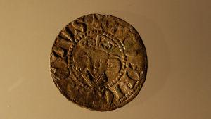 Mynt från Medeltiden. Hittat vid Raseborgs slott 2014.