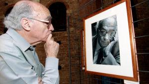 Den portugisiska författaren José Saramago.