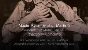 Martinu / Rysanov