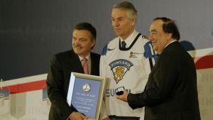 Kalevi Numminen introducerades till IIHF Hall of Fame år 2011.