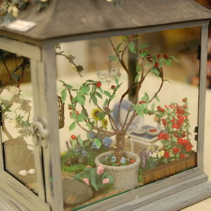 Växthus i miniatyr