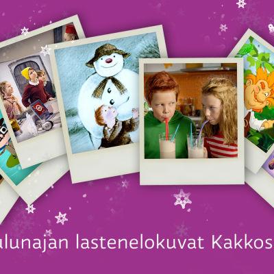 Joulunajan lastenelokuvat Kakkosella