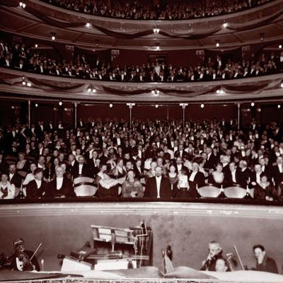 Kansalaisjuhla Kansallisteatterissa 13.1.1918