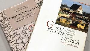 Två historieböcker om Borgå