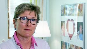 Osastonylilääkäri Liisa Lehtonen
