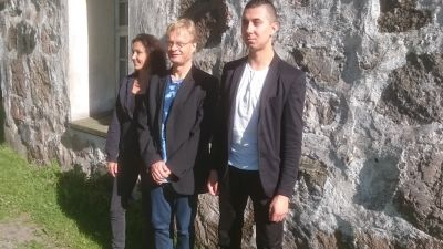 Asja Valcic, Iiro Rantala, Adam Bladych
