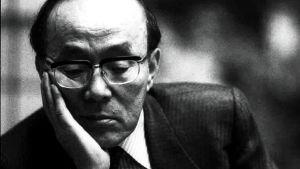 Den japanska författaren Shusako Endo